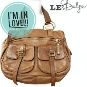 Bulga Leather Multi Flap Saddle Bag